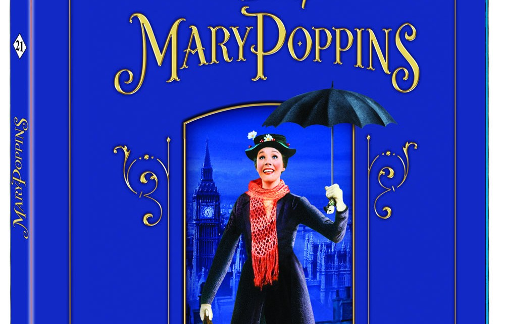 blu-ray - Mary Poppins : notre avis sur le Blu-Ray blu ray mary poppins edition 50e anniversaire 124335
