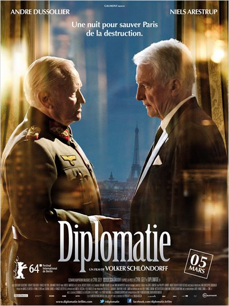 diplomatie - Diplomatie : Paris saute-t-il ? diplomatie affiche
