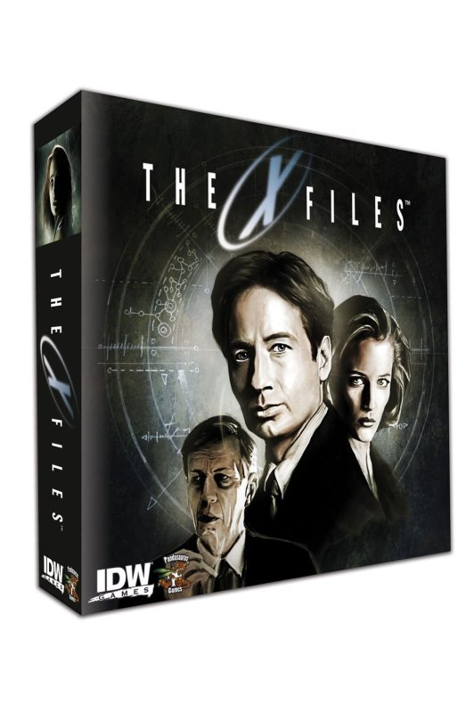 x-files board game