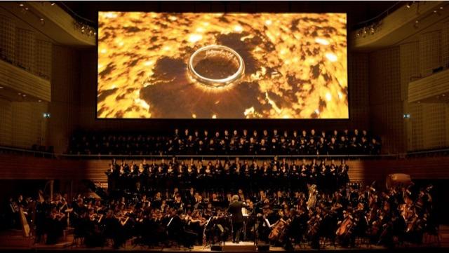 ciné-concert - Le Seigneur des Anneaux, l'expérience du ciné-concert couverture