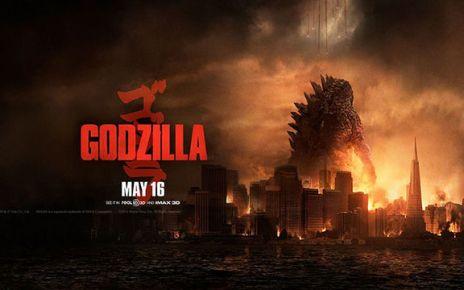 godzilla - Godzilla : taillé trop gros godzilla 2014 poster