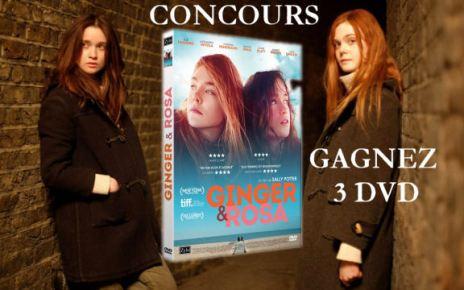 concours - [TERMINE] Gagnez 3 DVDs du film Ginger et Rosa concoursgingerrosa