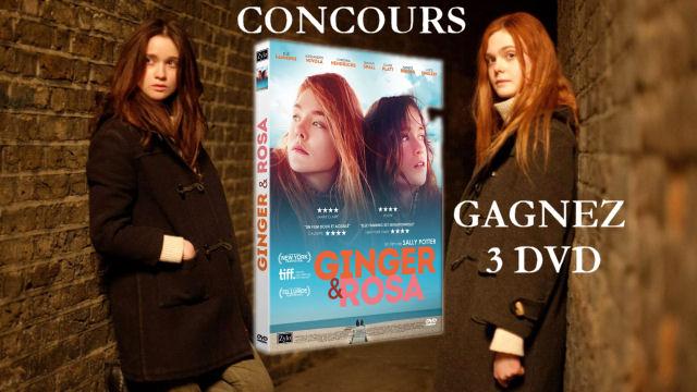 concours - [TERMINE] Gagnez 3 DVDs du film Ginger et Rosa