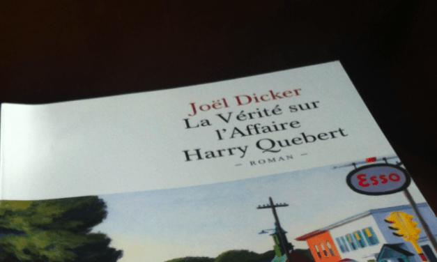 La Vérité sur l'Affaire Harry Quebert est sorti en poche