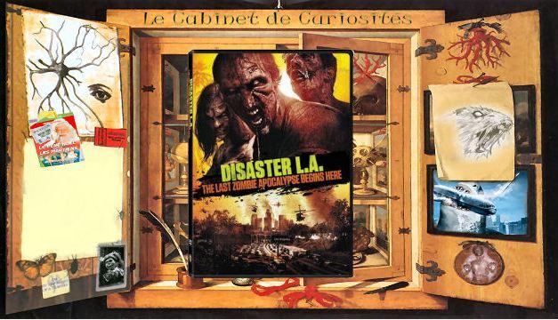 Le Cabinet de Curiosités présente des météorites et des zombies dans Disaster L.A.