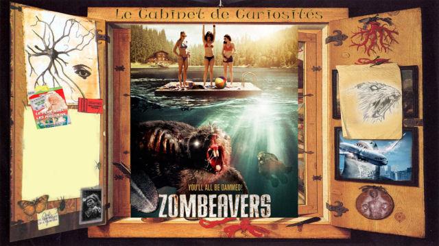cabinet de curiosités - Cabinet de Curiosités : Zombeavers débarque en septembre en France zombeavers news