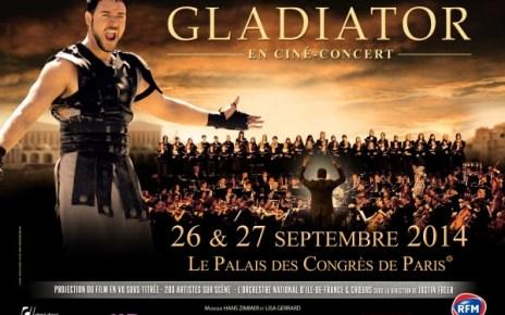 ciné-concert - Gladiator, l'experience du ciné-concert