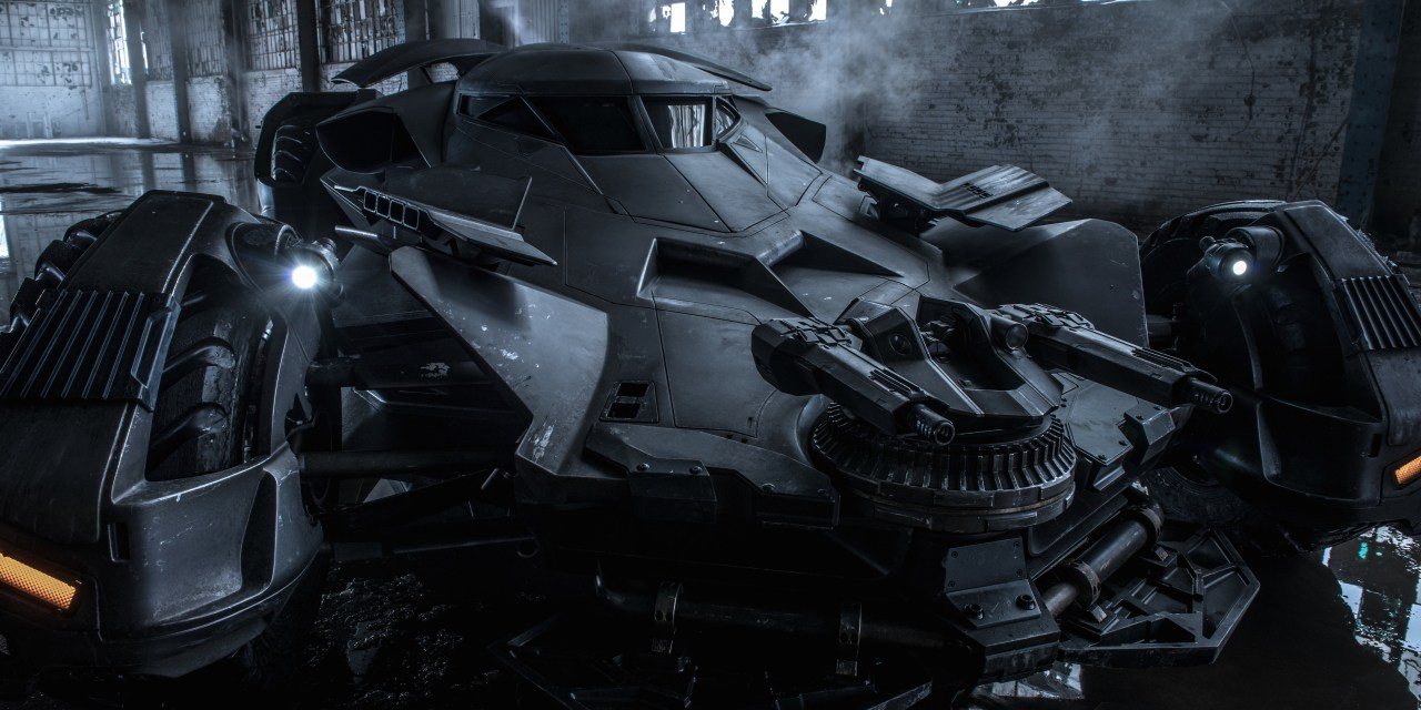La Batmobile de Batman V. Superman dévoilée