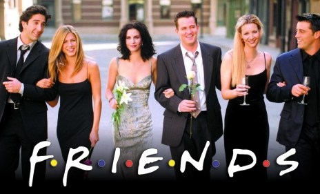friends - Friends célébrée à New-York dans un pop-up Experience.