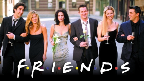 friends - Friends célébrée à New-York dans un pop-up Experience.