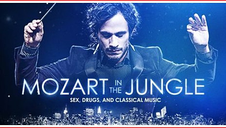 amazon - Mozart in the Jungle : la chasse est ouverte ! mozart in the jungle cast