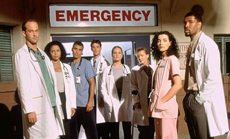 crossover - Le crossover improbable entre Urgences et un autre docteur chez Jimmy Kimmel urgences 20 ans