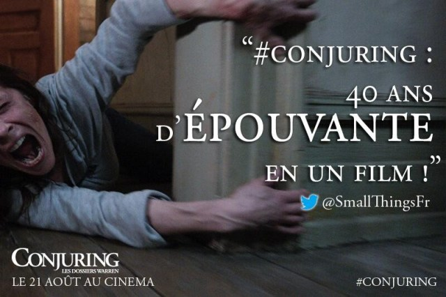 cinéthings - Soirée Ciné Things #1 : The Conjuring au Club de l'Etoile Conjuring SmallThings