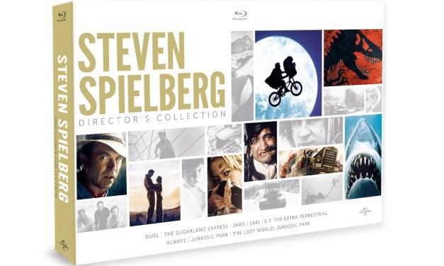 4 inédits bluray pour le coffret Spielberg !