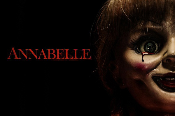 "james wan - ""Annabelle"", de John R. Leonetti : Child´s Play anabelle affiche"