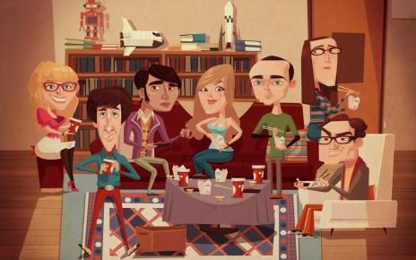 Big Bang Theory - Exposition BIG BANG THEORY au forum des Halles à Paris