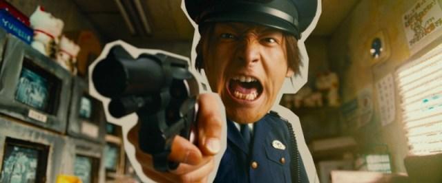 Reiji alias Toma Ikuta, excellent en timing comique et en action.