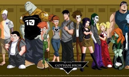 Découvrez Gotham High, le dessin-animé abandonné sur le Batverse