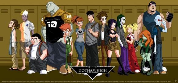 univers etendu - Découvrez Gotham High, le dessin-animé abandonné sur le Batverse gotham high