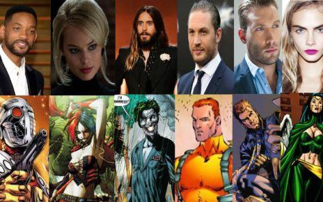 dc au cinéma - Suicide Squad : le casting officiel et les possibles connexions avec le DC Universe suicide squad full cast thumbbanner
