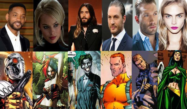 suicide squad - Suicide Squad : le casting officiel et les possibles connexions avec le DC Universe suicide squad full cast thumbbanner