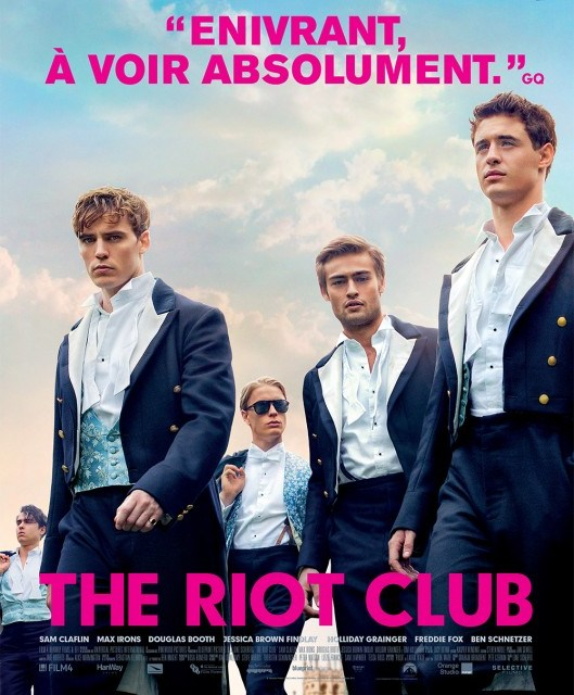 The Riot Club : You DO talk about Riot Club