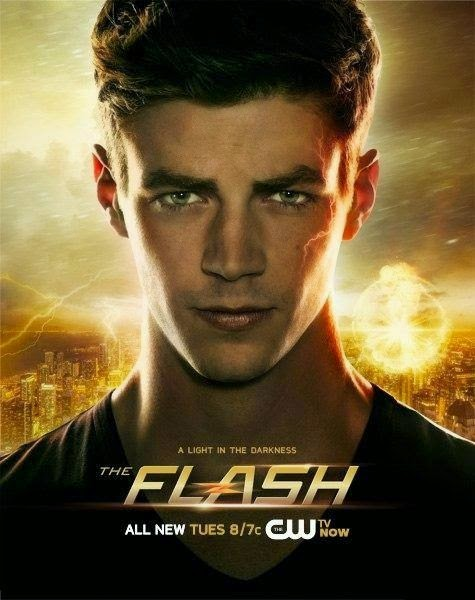 flash - The Flash 1x10 Revenge of the Rogues flash poster
