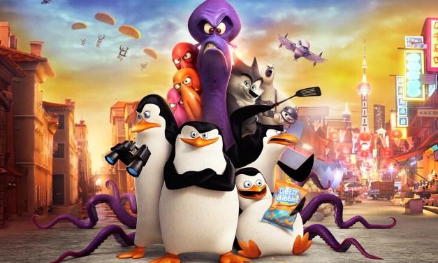 Les Pingouins de Madagascar : bien joué l'équipe !
