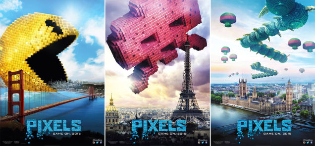 pixels - Pixels : Game over