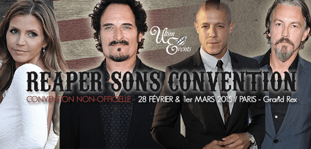 Reaper Sons Convention : Les Sons of Anarchy continuent à vivre…