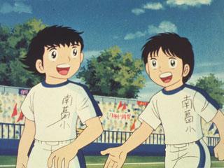 captain tsubasa - Captain Tsubasa T28 : Olive et Tom, ils sont toujours ensemble ! captain tsubasa couv