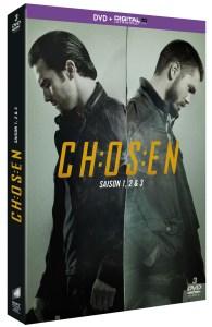 PACK chosen s1 2 & 3 DVD 3d