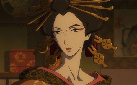Hokusai - Miss Hokusai : des hommes et des dragons miss hokusai couv