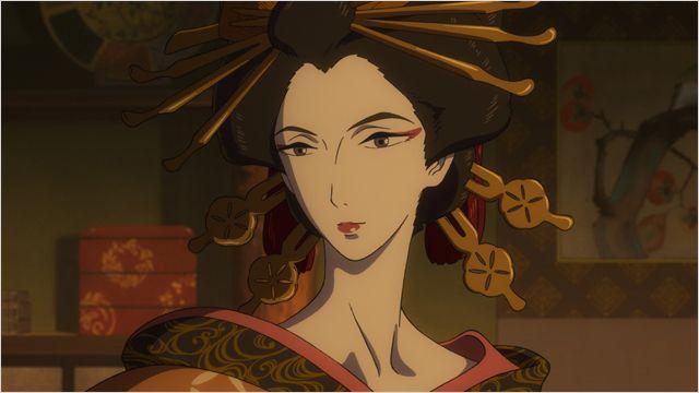 Keiichi Hara - Miss Hokusai : des hommes et des dragons miss hokusai couv