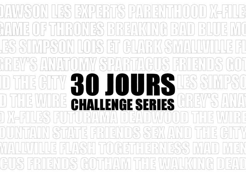 30jourschallengeséries - 30 Jours Challenge Séries : Jour 6 -  Episode favori de votre série préférée