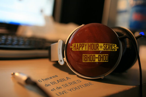 "serialcauseurs - [Replay] Happy Hour Séries : seconde édition ""Comment parler séries?"" HHS5"