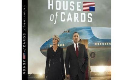 CONCOURS TERMINE : gagnez la saison 3 de HOUSE OF CARDS en blu-ray