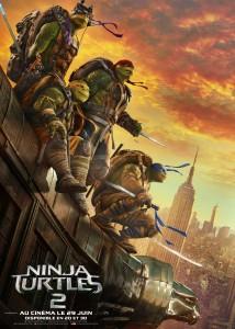 cinéma - Le meilleur et le pire du cinéma en 2016 par l'équipe du site NINJA TURTLES 2 affiche