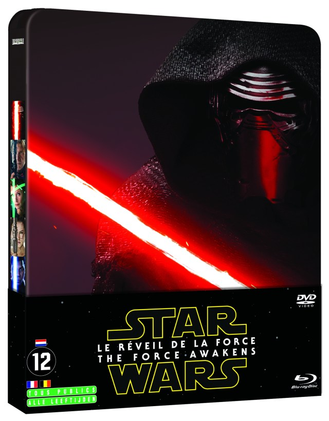 Steelbook BD STAR WARS LE REVEIL DE LA FORCE