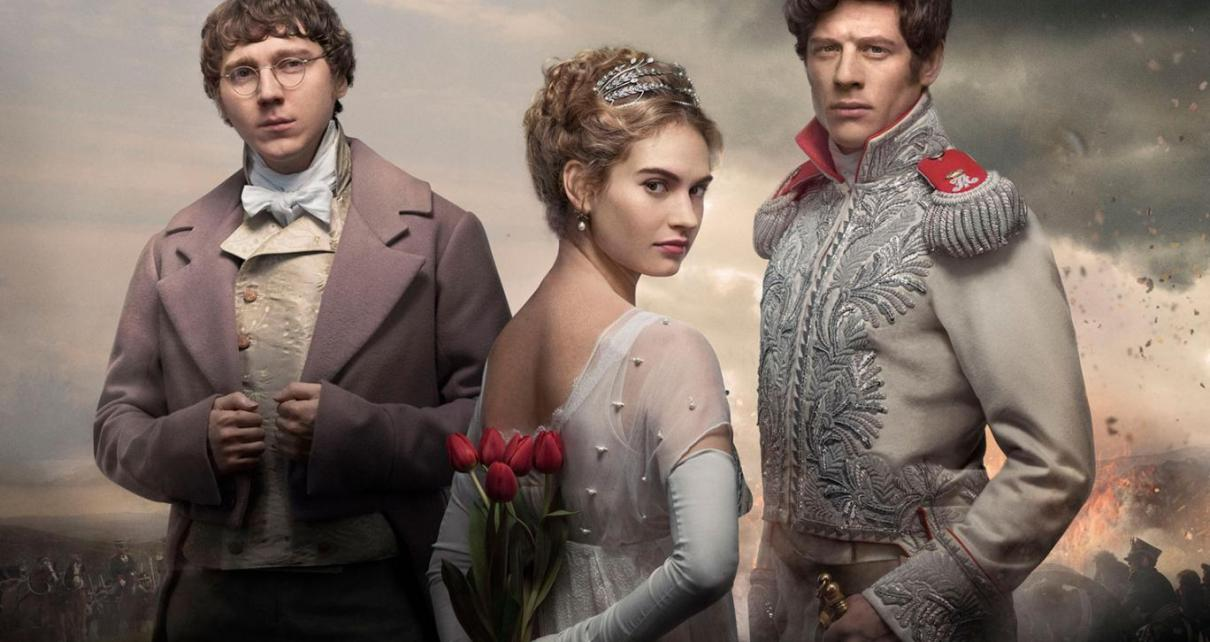 BBC - War and Peace - Le glamour russe à l'anglaise