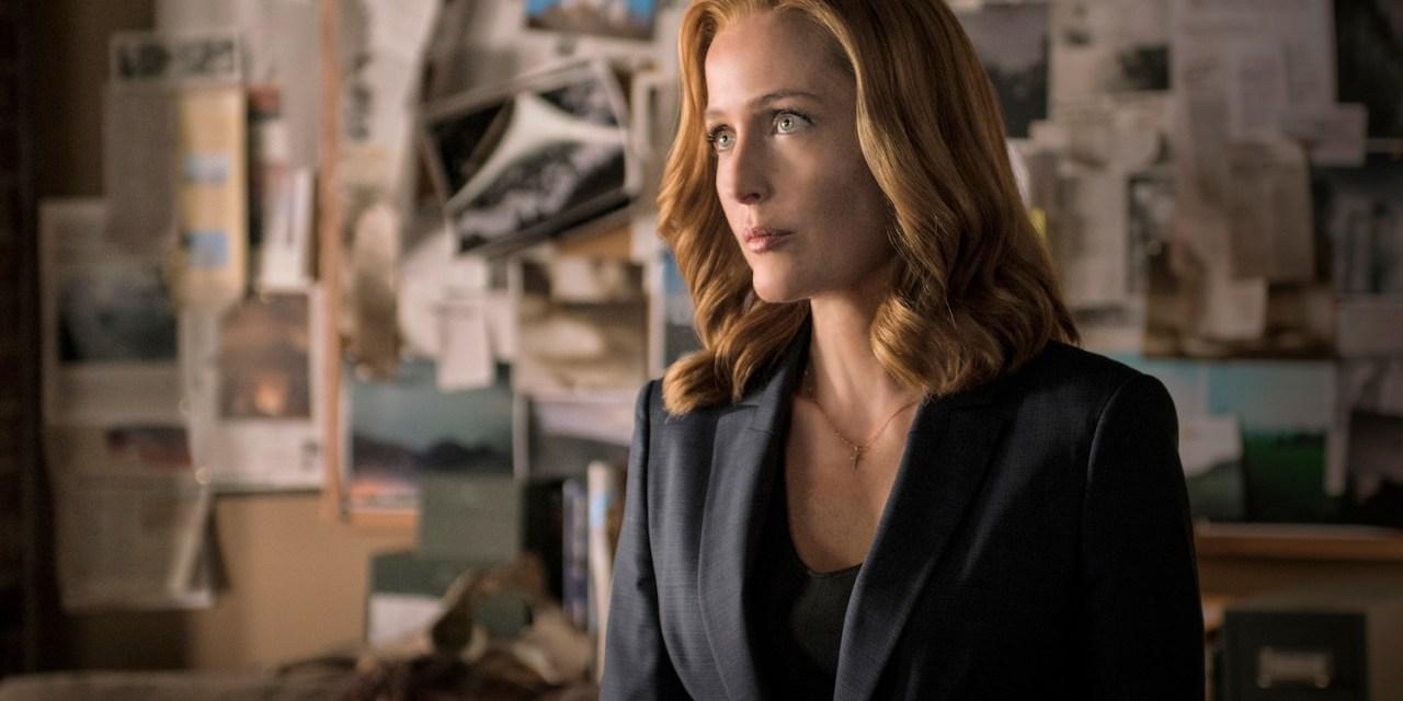 Gillian Anderson en a fini avec X-Files