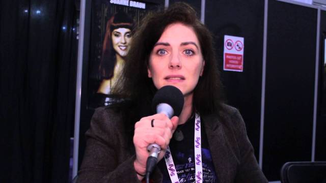 Neve McIntosh, alias Lady Vastra dans Doctor Who