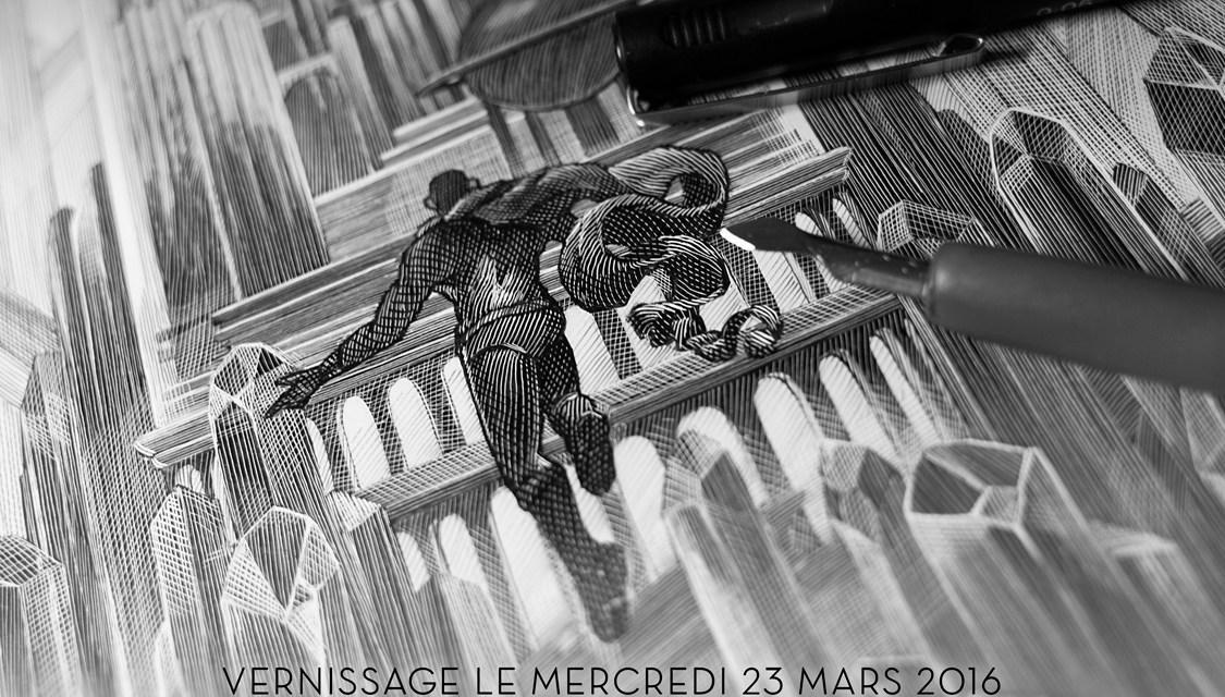 Exposition gratuite Cinéma & Pop Culture à la French Paper Gallery de Paris mercredi 23/03/16