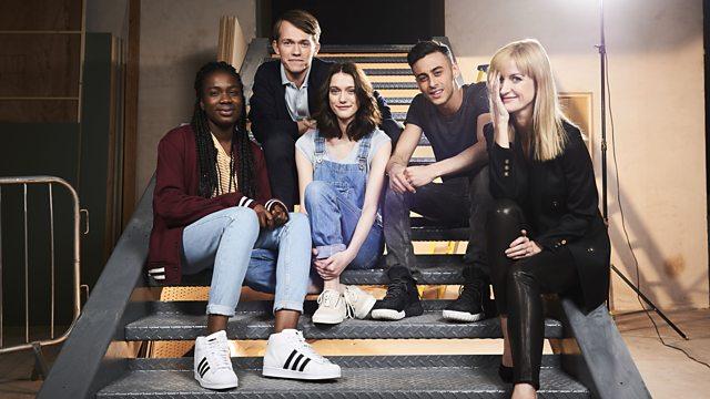 Le cast de la série @BBC