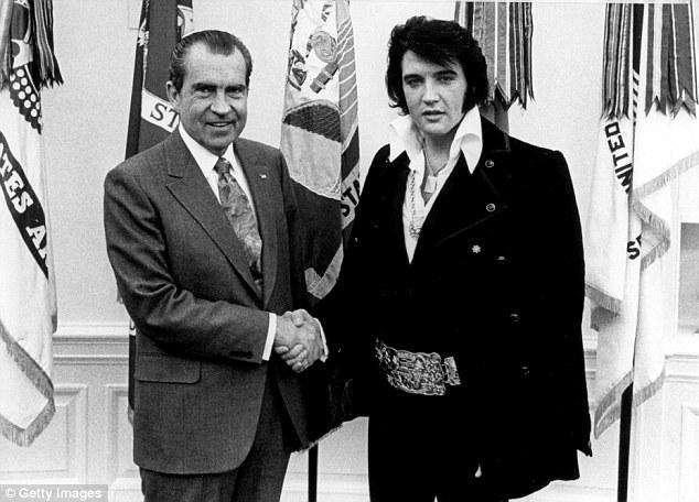 Elvis et Nixon : il était une fois en Amérique