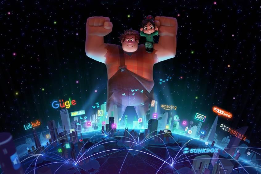 les mondes de ralph - LES MONDES DE RALPH 2, bonjour Internet ralph 2