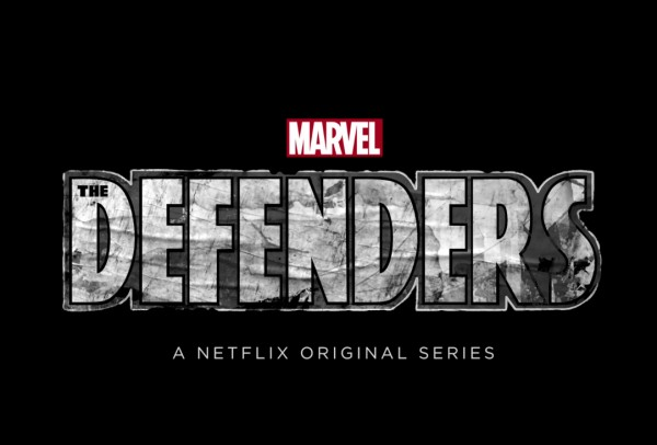 marvel - The Defenders : des poings c'est tout the defenders logo