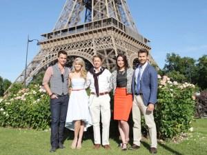 Darin a rencontré sa voix française à Paris en 2014 alors qu'il tournait les épisodes avec Kim Matula, que l'on voit dans la saison 2 de Unreal.