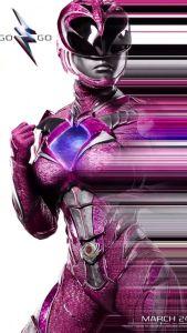 power rangers - Power Rangers : une nouvelle bande-annonce qui donne envie ! powerrangermovieposterpink 204100