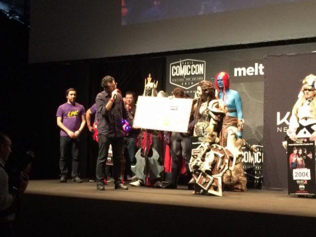 Concours de cosplay
